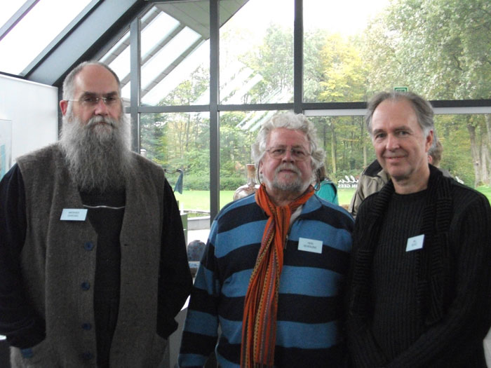Werner Gnegel, Hein Severijns, and Bill Boyd