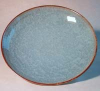 blue crackle bowl