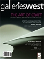 Galleries West cover